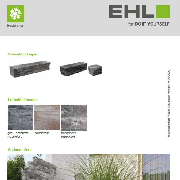 DIY Produktdatenblatt Vorschaubild Anbario Mauer
