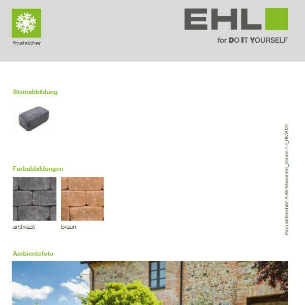 DIY Produktdatenblatt Vorschaubild Antik Mauerstein