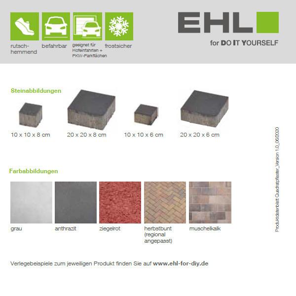 DIY Produktdatenblatt Vorschaubild Quadratpflaster