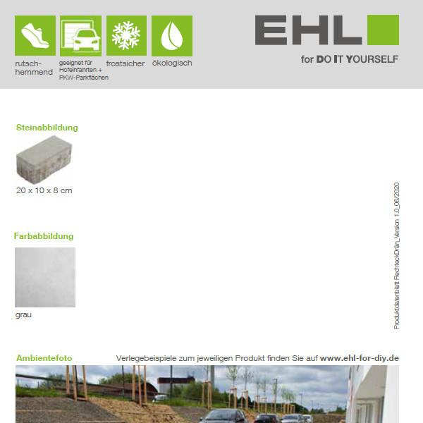DIY Produktdatenblatt Vorschaubild RechteckDrän