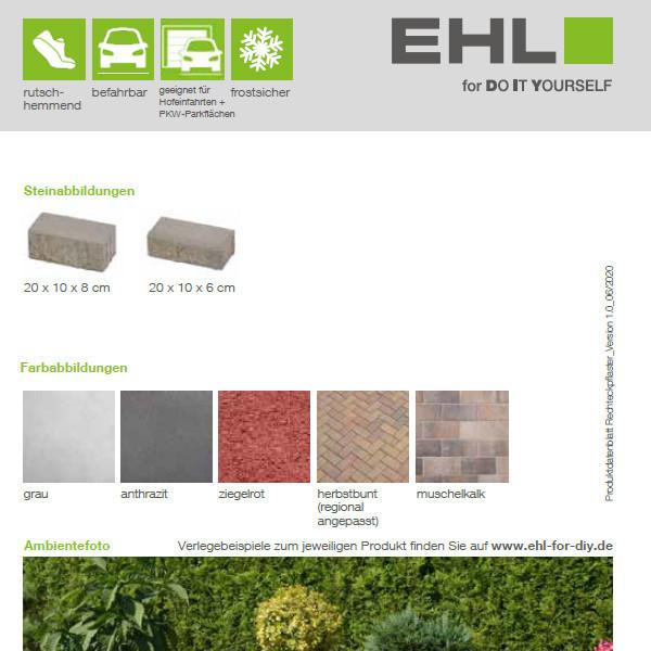DIY Produktdatenblatt Vorschaubild Rechteckpflaster