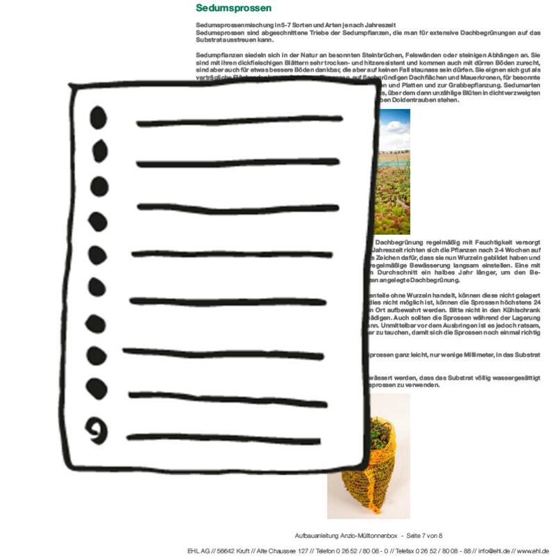 Bestellformular Sedumsprossen