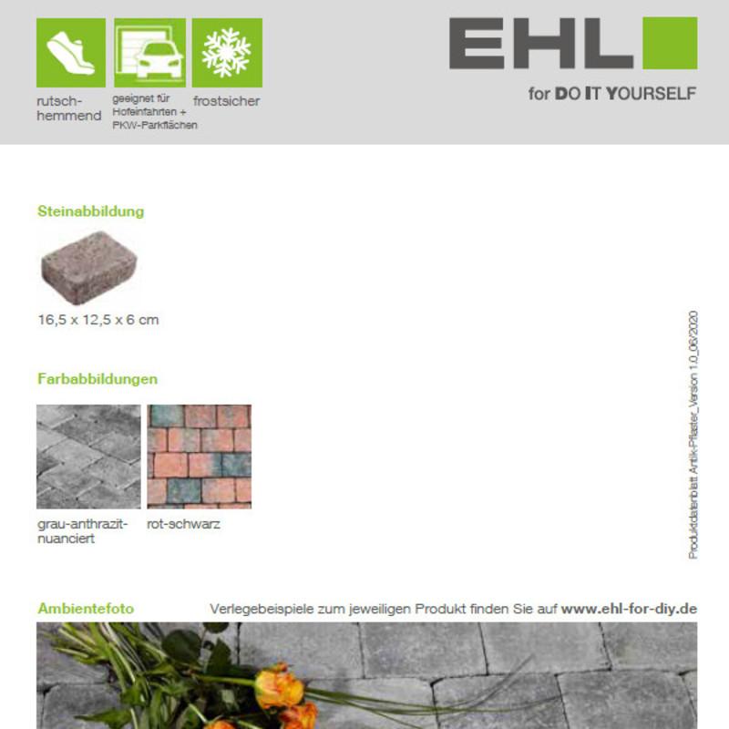 DIY Produktdatenblatt Vorschaubild Antik Pflaster