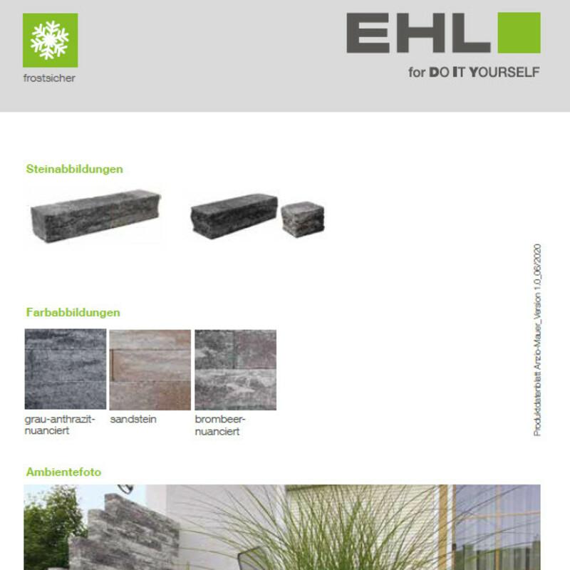 DIY Produktdatenblatt Vorschaubild Anzio Mauer