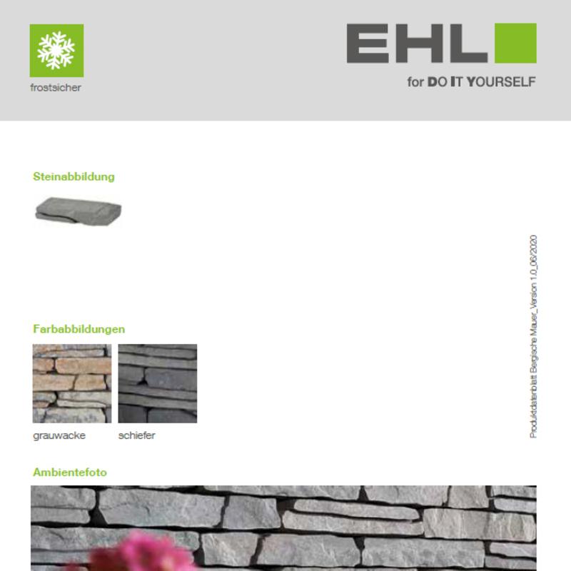 DIY Produktdatenblatt Vorschaubild Bergische Mauer