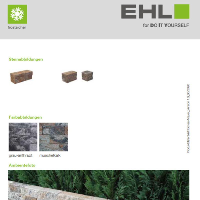 DIY Produktdatenblatt Vorschaubild Bonsai Mauer