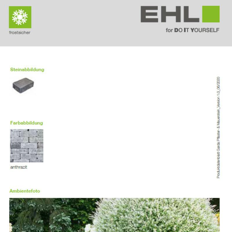 DIY Produktdatenblatt Vorschaubild Garda Pflasterstein