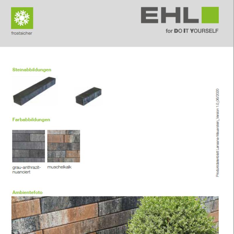 DIY Produktdatenblatt Vorschaubild Lansana Mauer