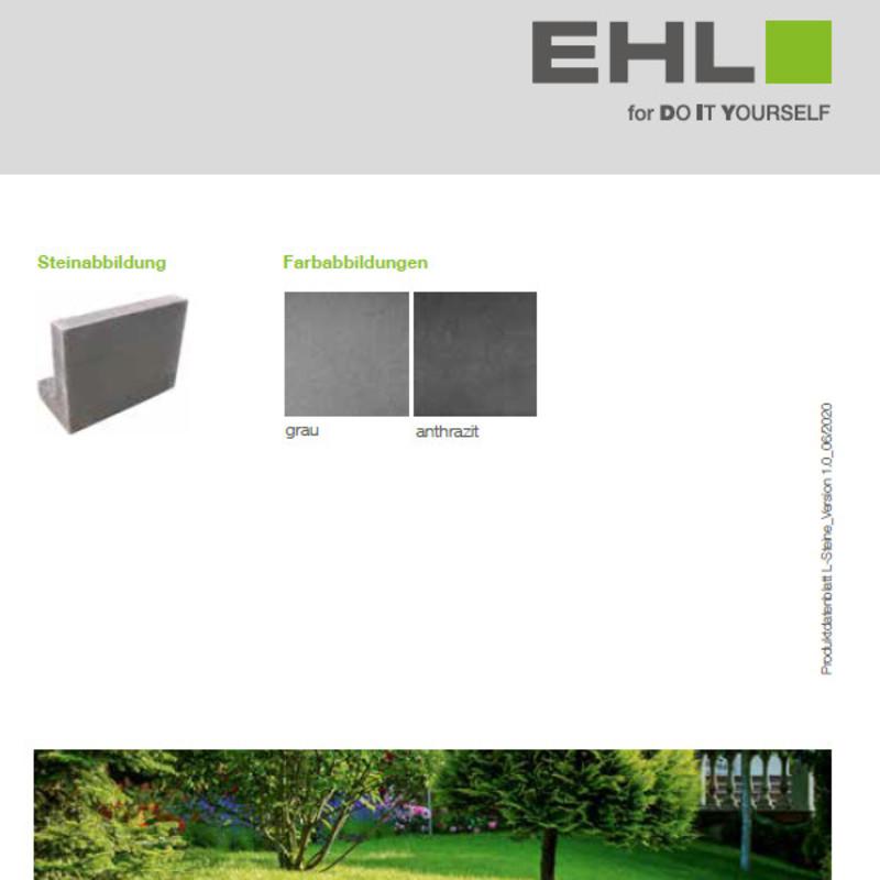 DIY Produktdatenblatt Vorschaubild  L-Steine