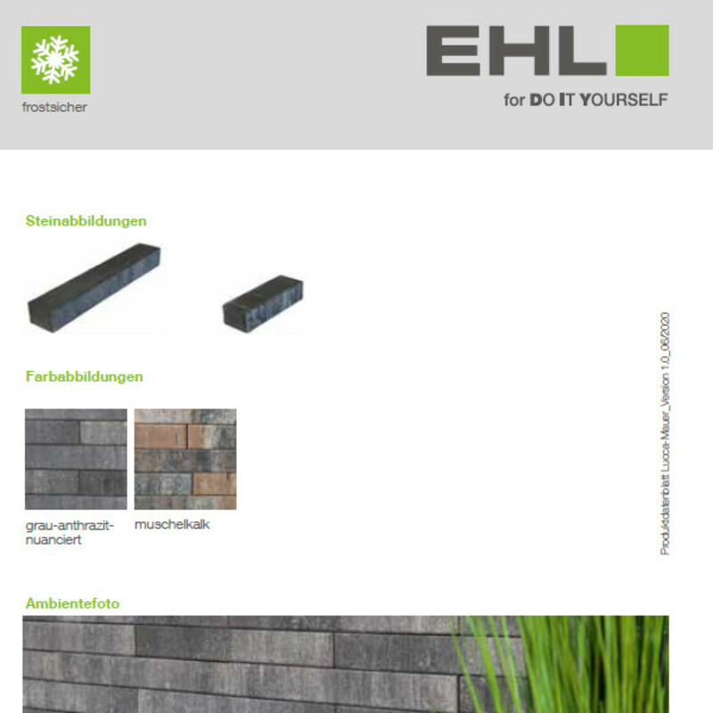 DIY Produktdatenblatt Vorschaubild Lucca Mauer