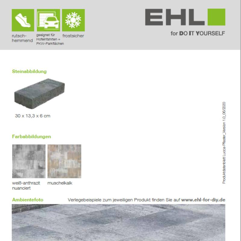 DIY Produktdatenblatt Vorschaubild Lucca Pflaster
