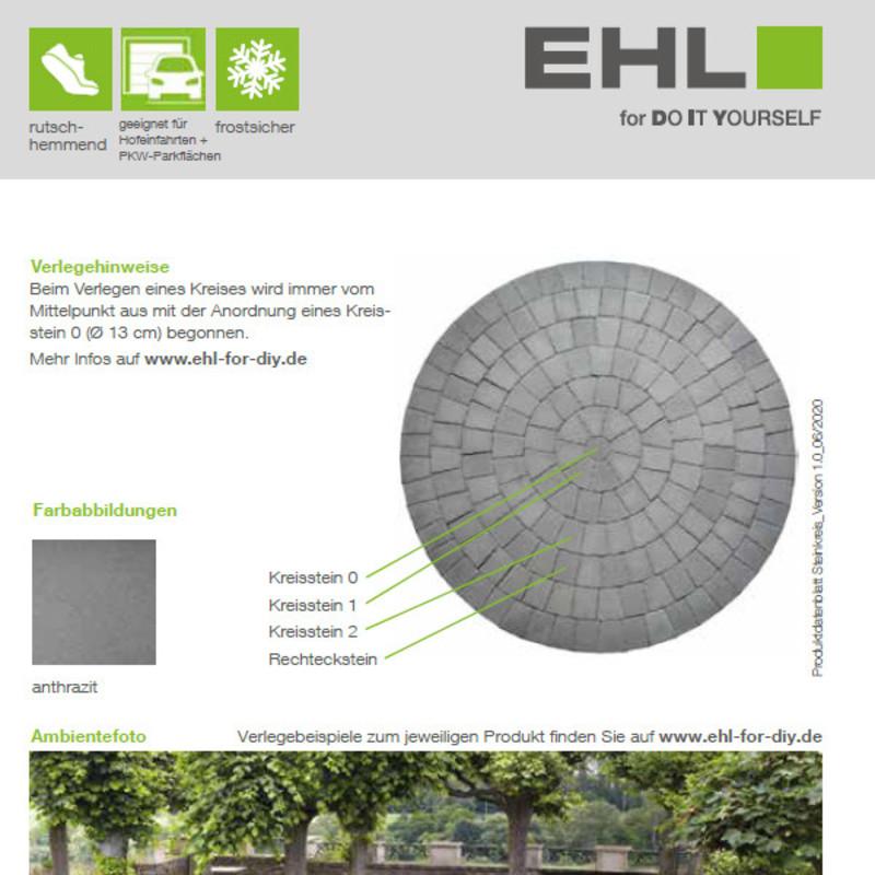 DIY Produktdatenblatt Vorschaubild Pflasterkreis