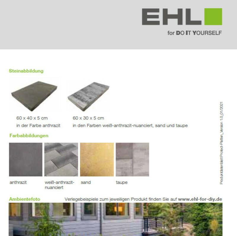 DIY Produktdatenblatt Protect-Platten