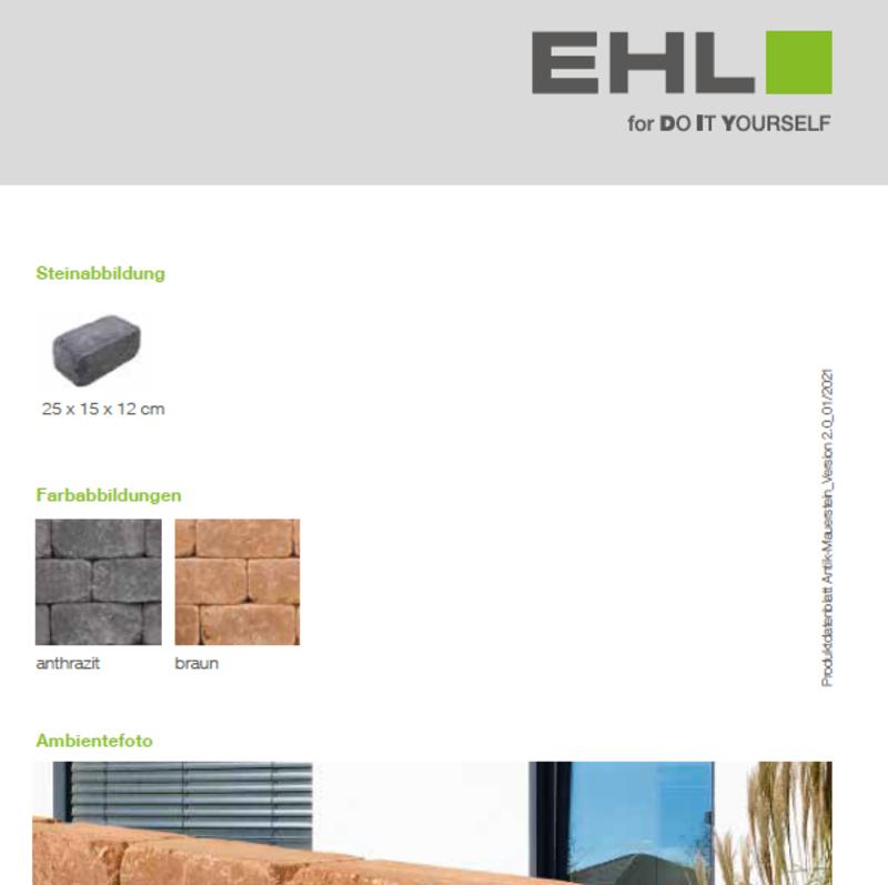 DIY Produktdatenblatt Vorschaubild Times Antik Mauer