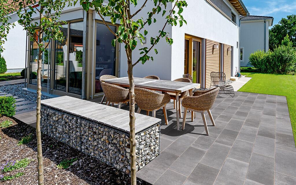 Terrassenplatten grau von Bauhaus