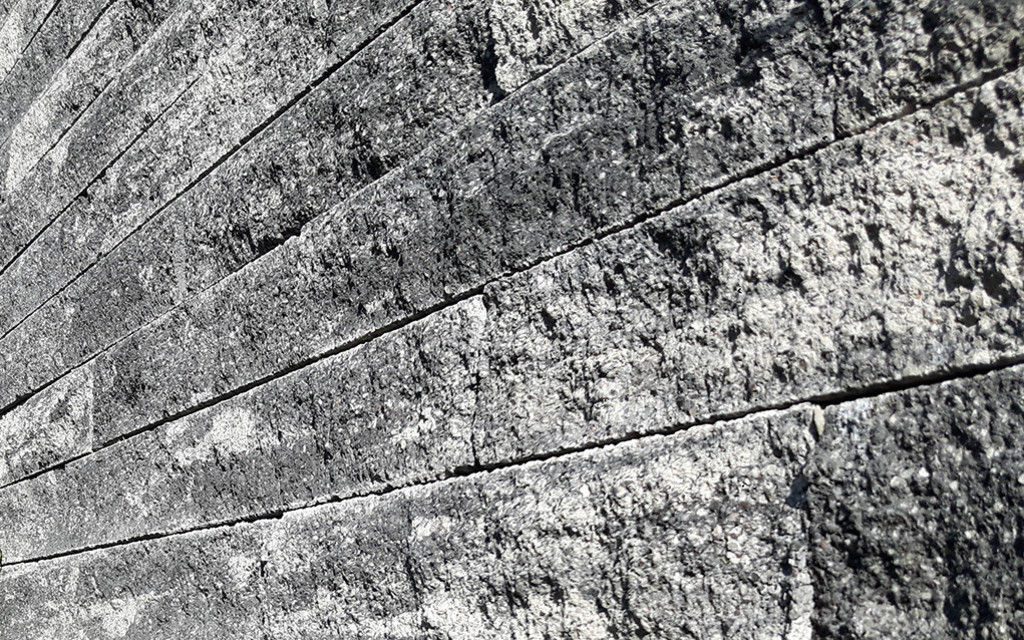 Anbario Mauer grau-anthrazit