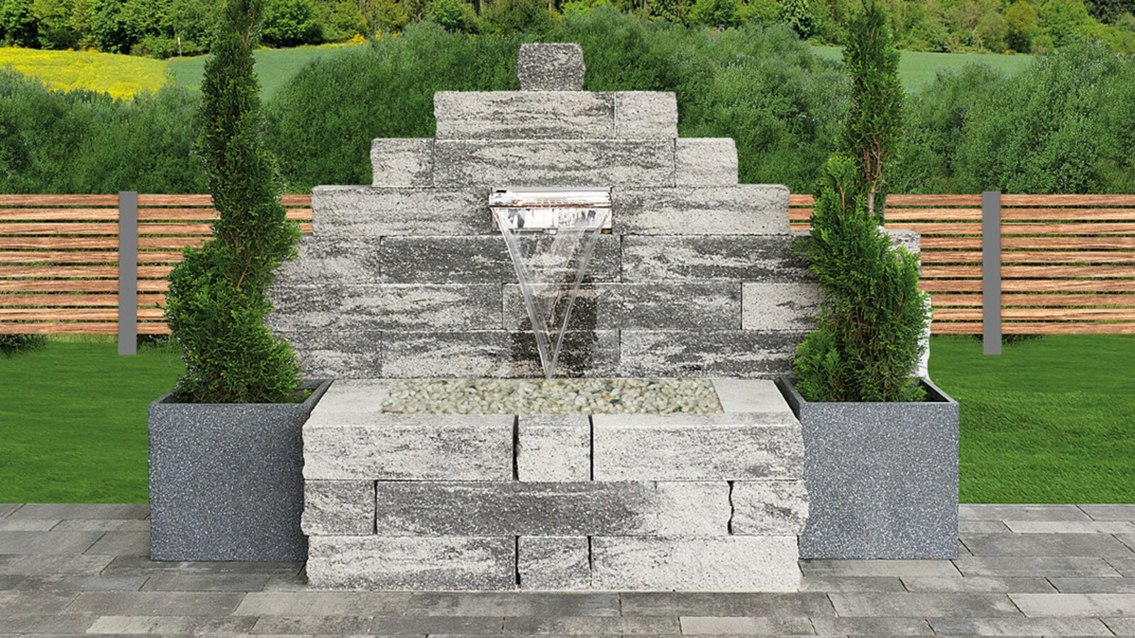 Anbario Brunnen
