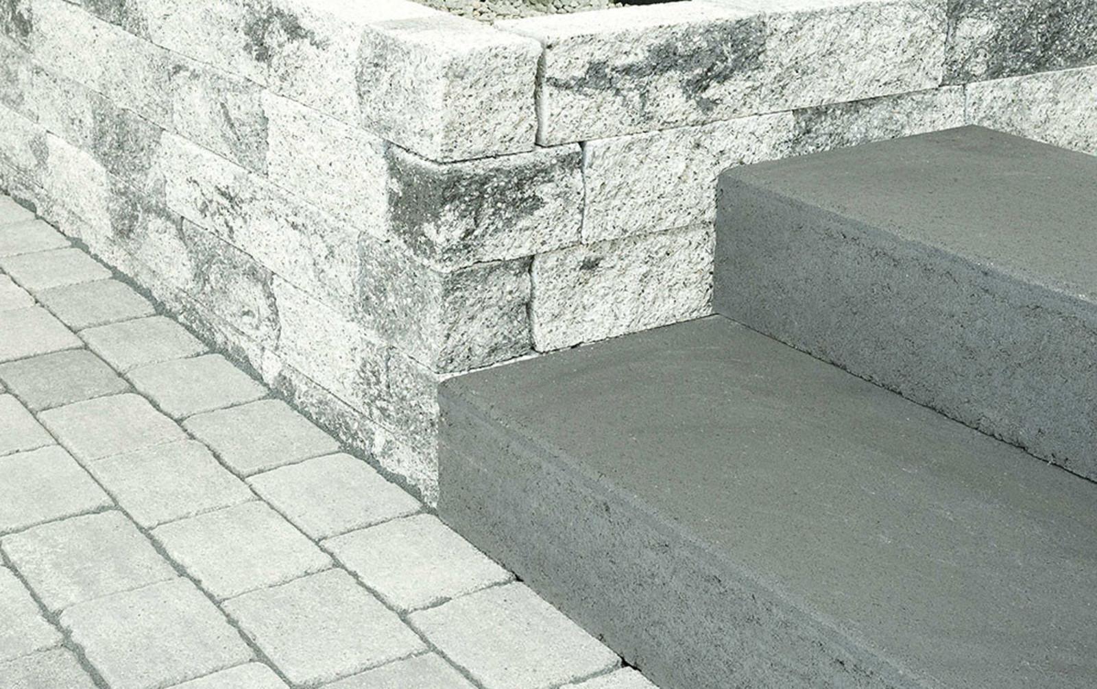 Bonsai Mauer grau-anthrazit