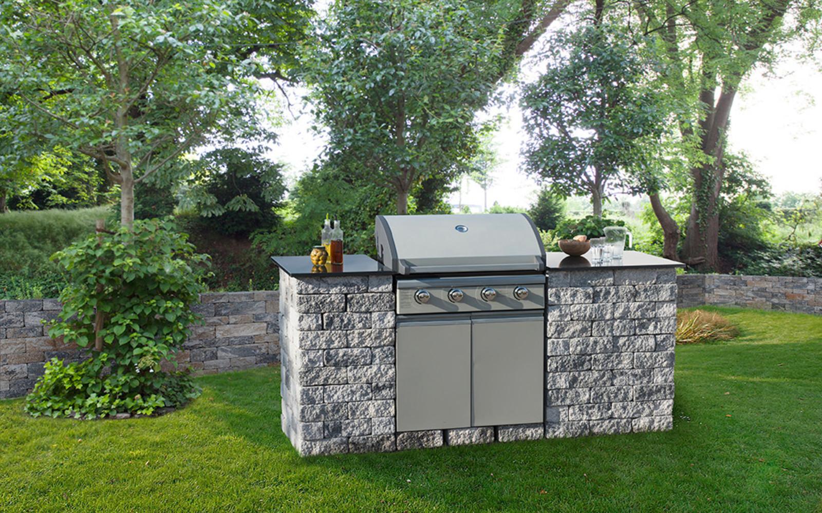 Outdoorküche klein Garten