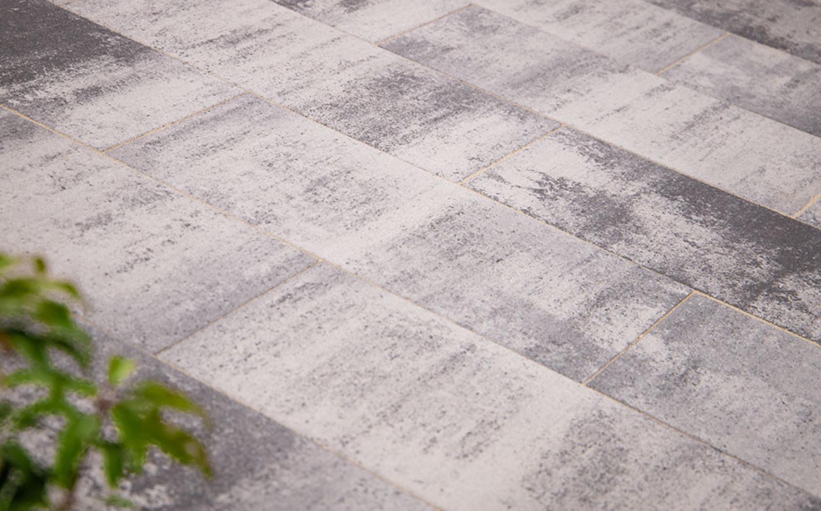 Terrassenplatten grau-nuanciert Lansana