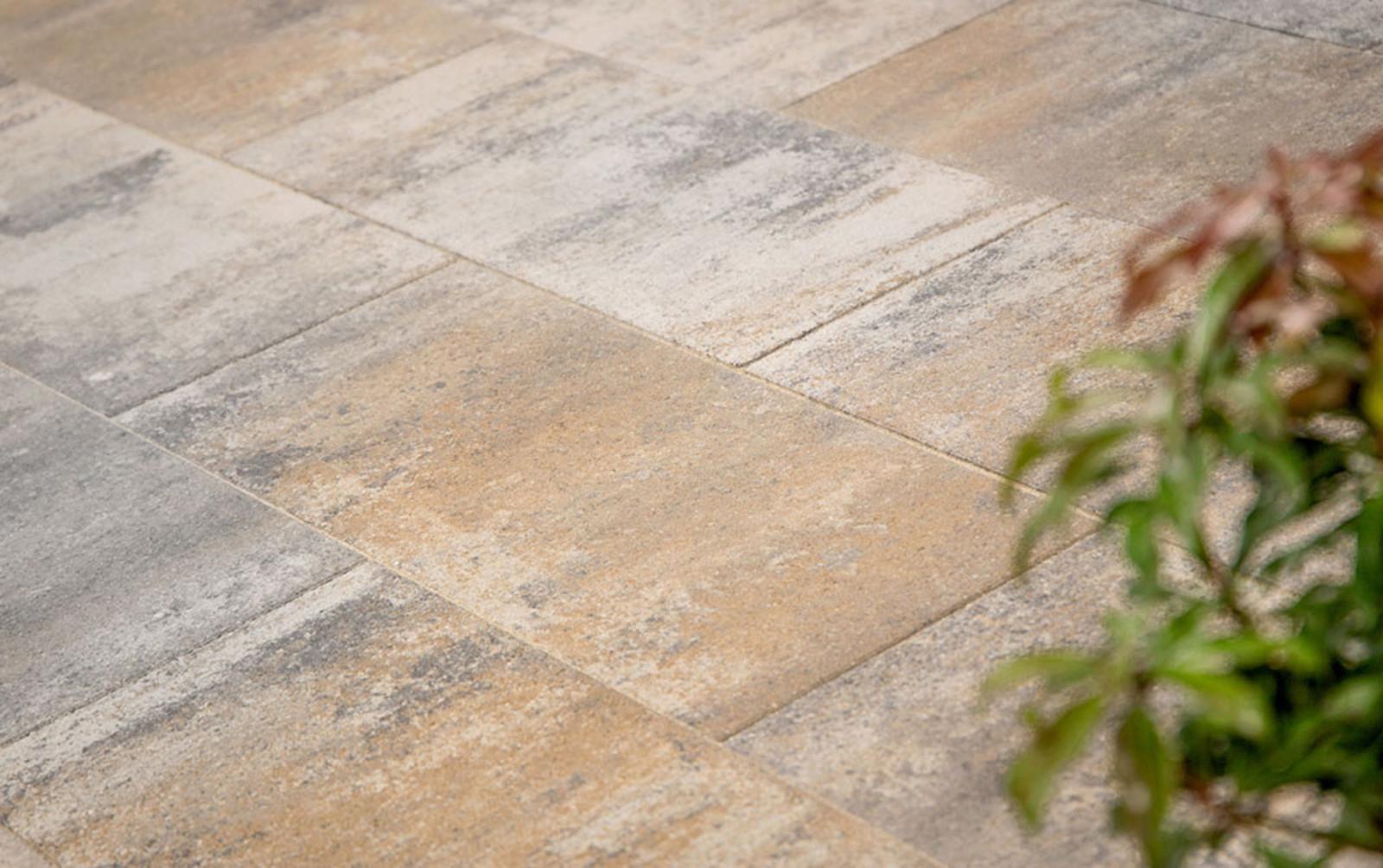Terrassenplatten muschelkalk