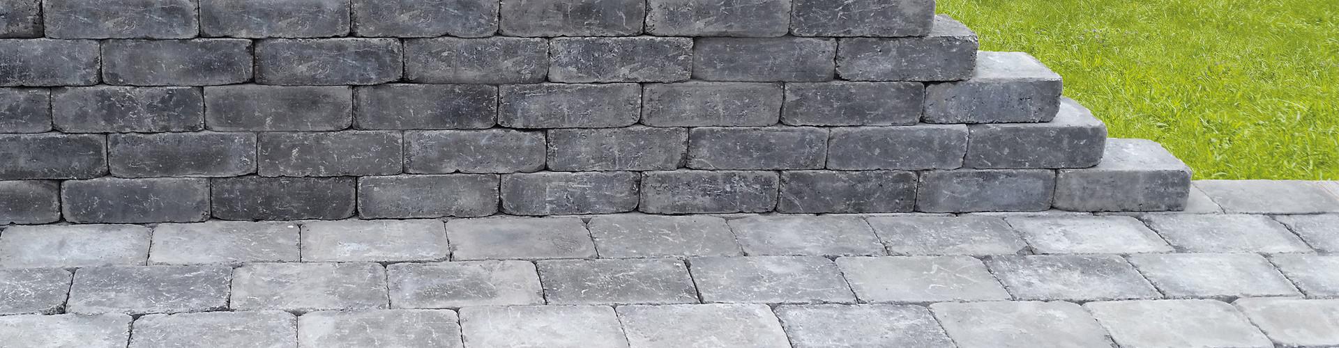 Mauer- und Pflasterstein Antik