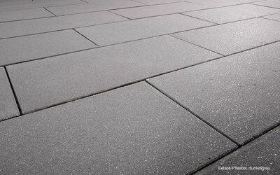 Pflastersteine edel Großformat grau
