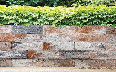 BossIntak light Mauerblock zur Gartenbegrenzung