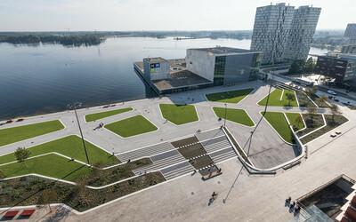 Öffentliche Platzgestaltung Hafen Park