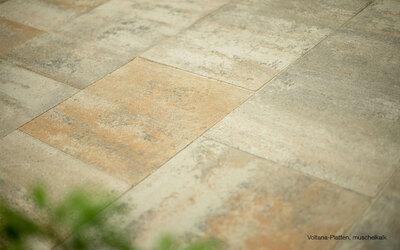 Terrassenplatten muschelkalk Voltana