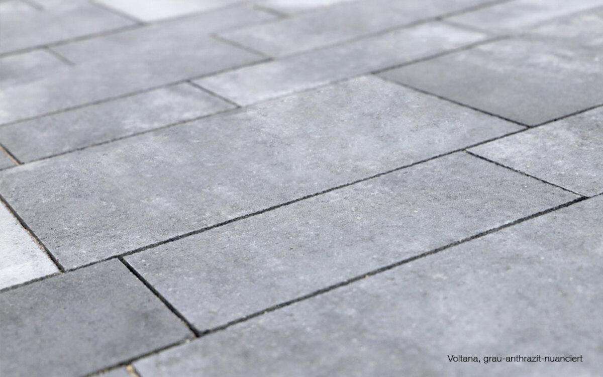 Terrasse modern elegant anthrazit nuancen