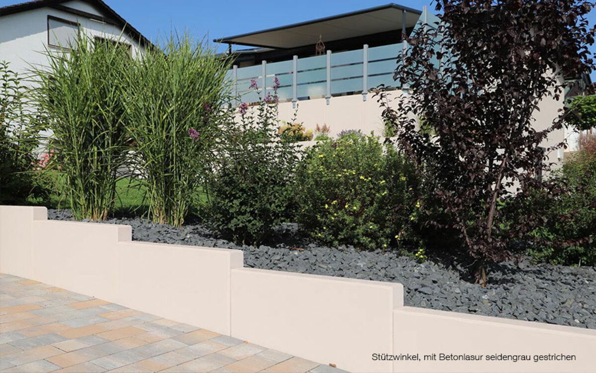 L Steine zwei Etagen Gartenbau