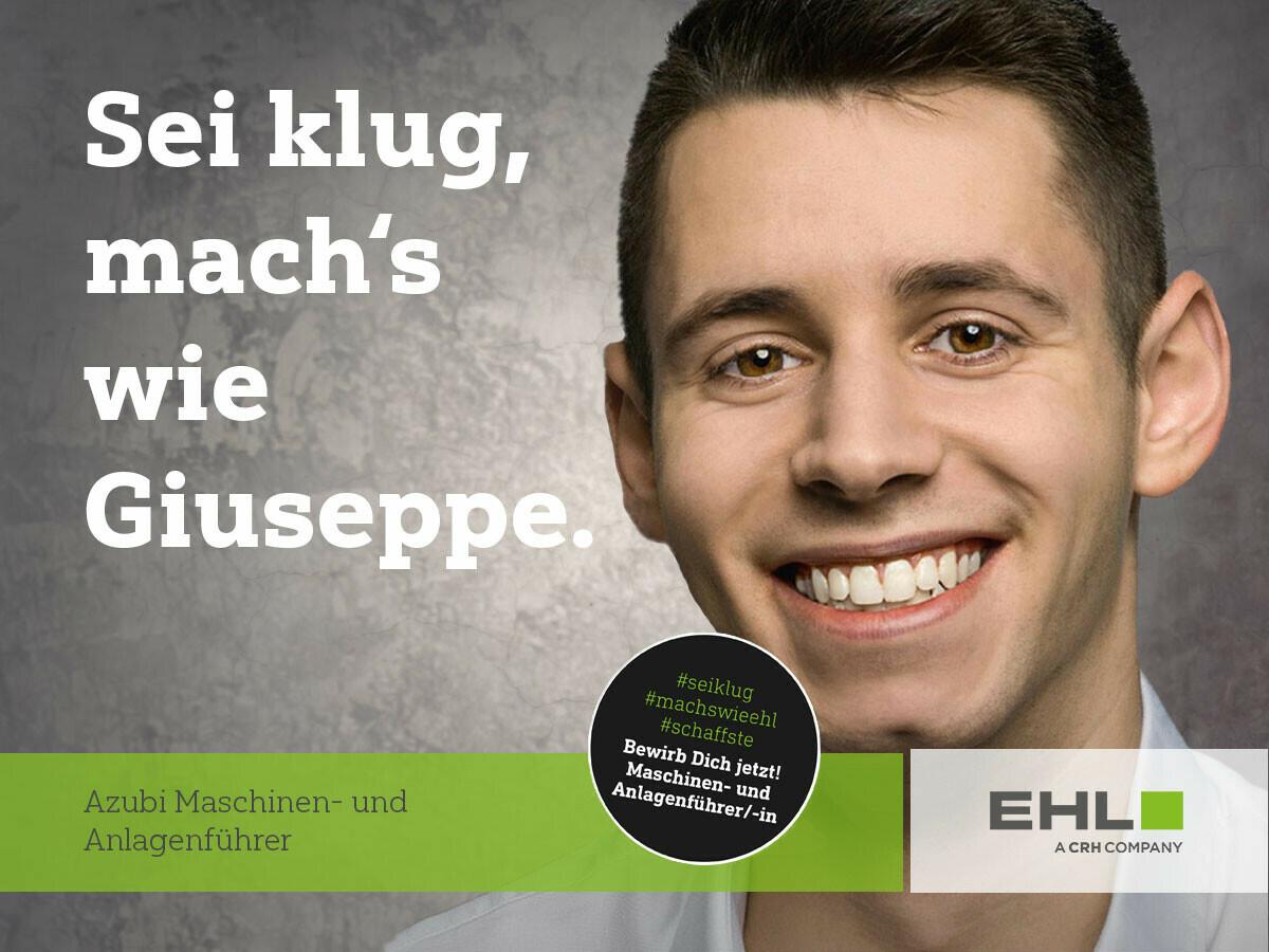 Azubi Maschinenführer EHL