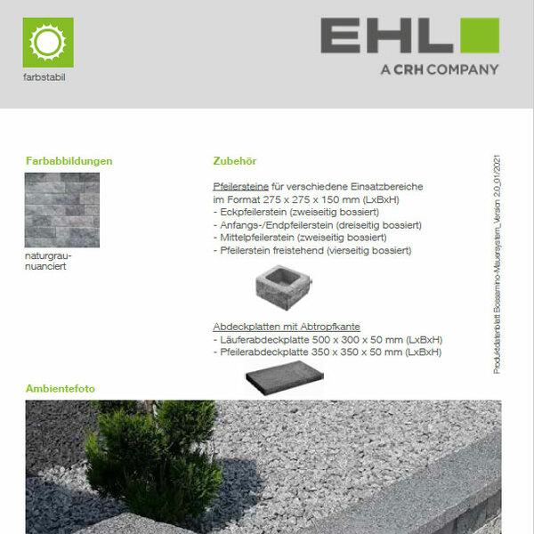 EHL-Datenblatt-Bossamino