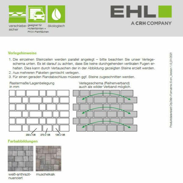 EHL Datenblatt CityDrän Formatmix