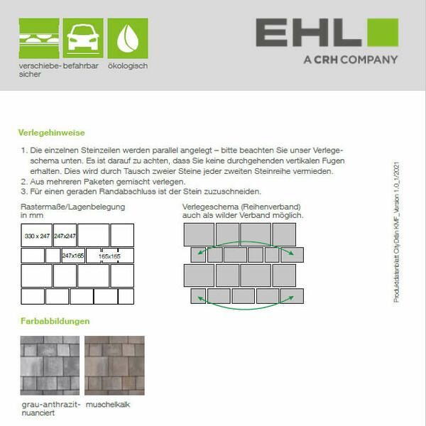 EHL Datenblatt CityDrän Kombi-Mehrformat