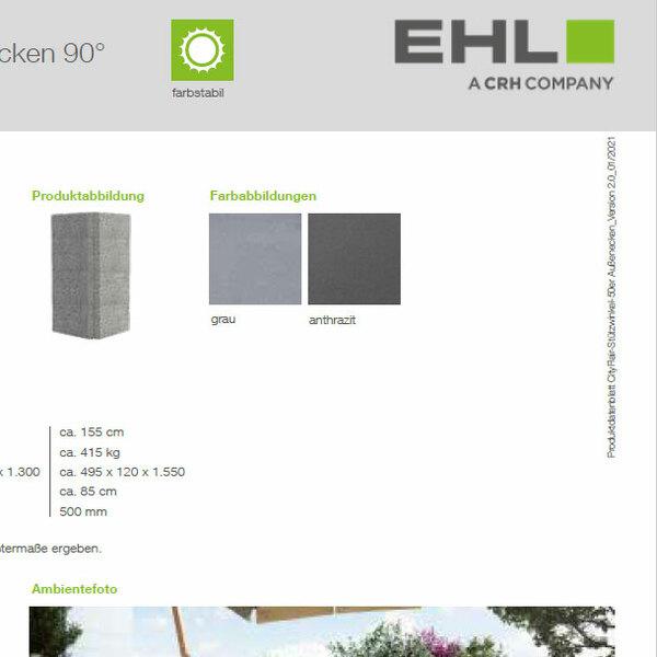 EHL-Datenblatt-CityFlair-Stützwinkel Ecke 50