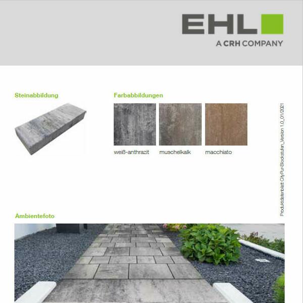 EHL Datenblatt CityPur-Blockstufen