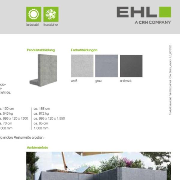 EHL-Datenblatt-Flair Srtützwinkel 100