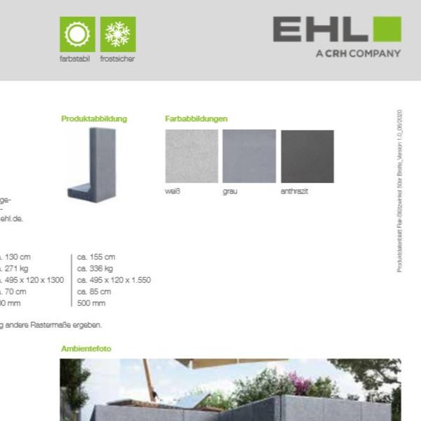 EHL-Datenblatt-Flair Stützwinkel 50