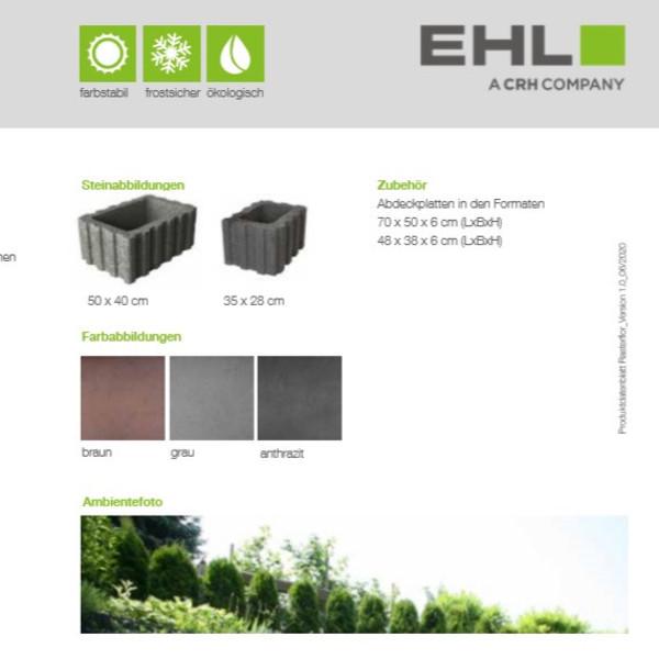 EHL-Datenblatt-Rasterflor