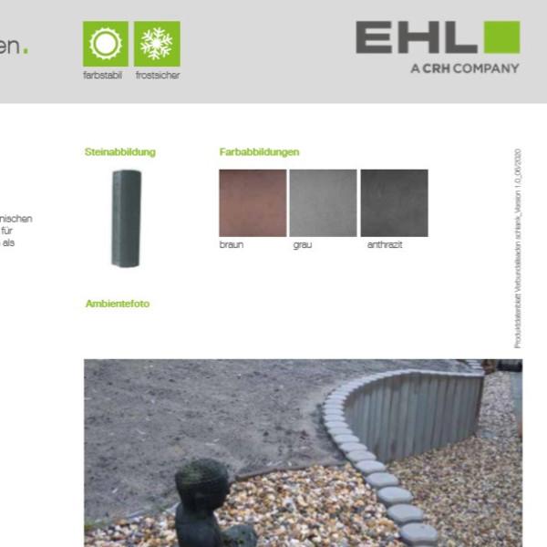 EHL-Datenblatt-Verbundpalisade schlank