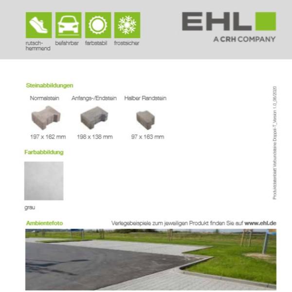 EHL-Datenblatt-Verbundpflaster Doppel T