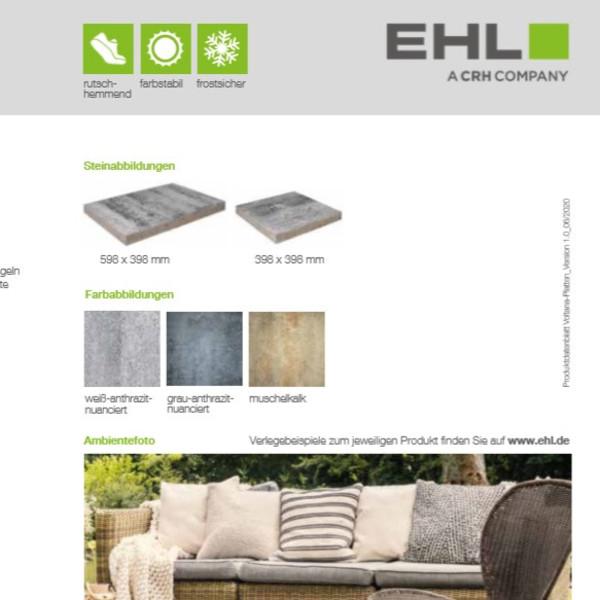 EHL-Datenblatt-Voltana Platten