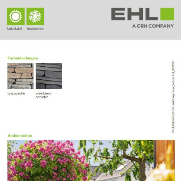Vorschaubild Datenblatt Weinbergmauer