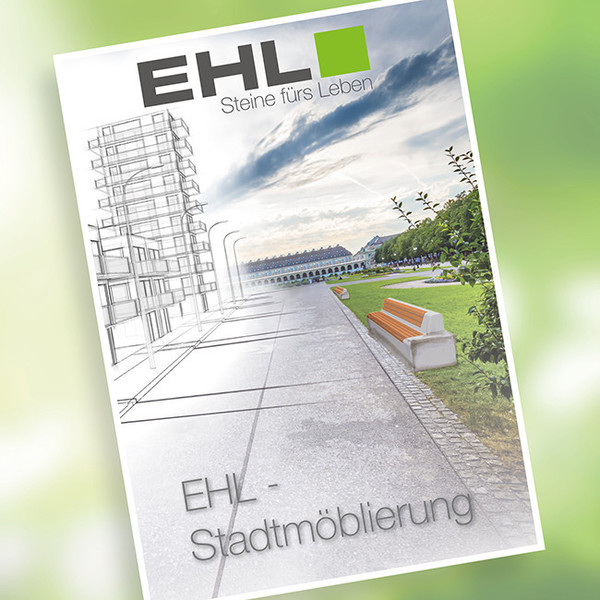 Stadtmöblierung Broschüre