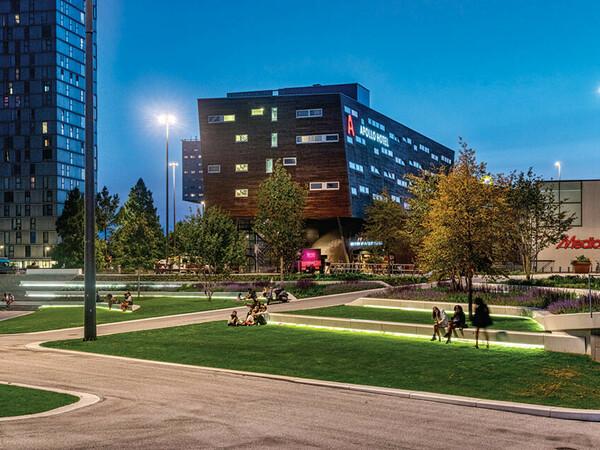 De Esplanade Almere öffentlicher Platz Innenstadt