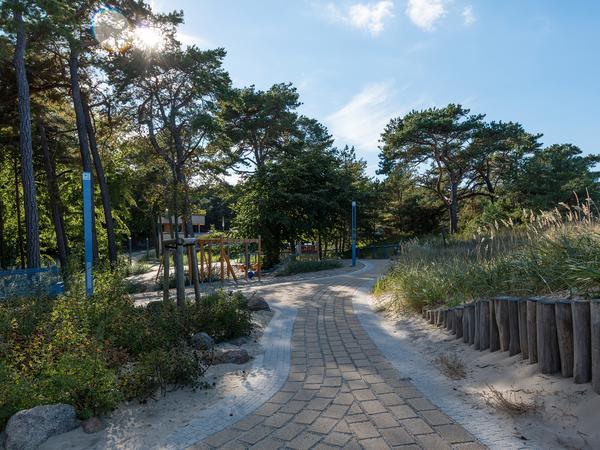 Strandweg durch die Dünen