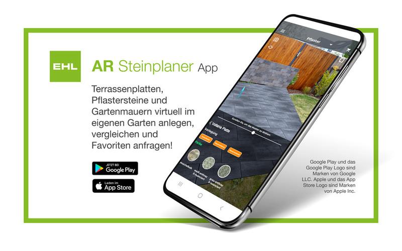 AR Steinplaner App