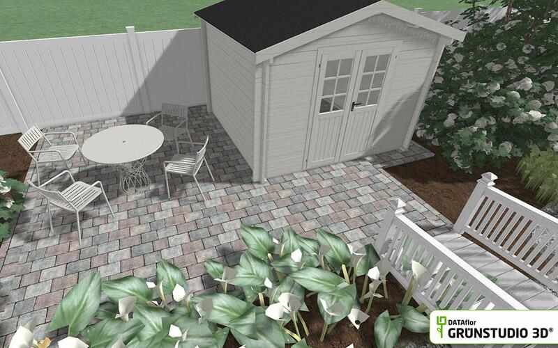 Grünstudio 3D EHL CityAntik-Pflaster